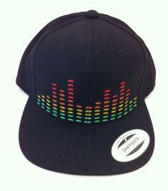 Black Equalizer Snap Back Hat on Etsy, $25.00