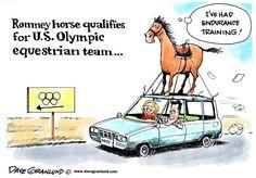 Romney horse in Olympics