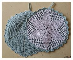 Prunes from everyday life: Grandmothers potholders