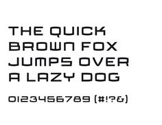 Typeface made for InterXion, by VormVijf