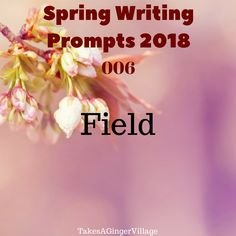 March Writing Prompts Part 1 – Takes A Ginger Village
