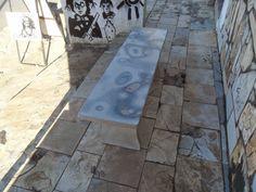Pedra Sobre Pedra - Artesanato em Pedra Cariri: Banco de pedra cariri