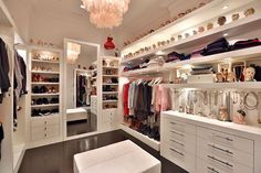 walk in closet ideas organization; small walk in closet ideas; walk in closet ideas organization; small walk in closet ideas; Walk In Closet Small, Walk In Closet Design, Bedroom Closet Design, Master Bedroom Closet, Closet Designs, Walk Through Closet, Mirror Bedroom, Diy Bedroom, Master Bedrooms