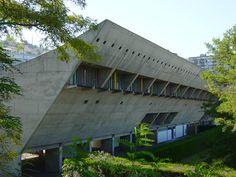 Maison de la culture de Firminy / Le Corbusier