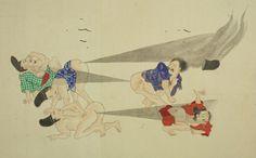 Une bataille de pets au Japon en 1600 bataille pet japon 01 800x497