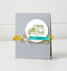Guys Greetings is the perfect set for all of those masculine projects! ~ Sarah Sagert