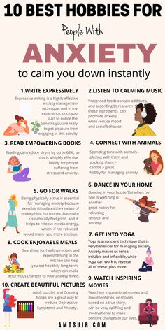 10 Best hobbies for people with anxiety that are both calming and practical, making them suitable for a busy and overwhelmed lifestyle | Amosuir.com | What hobbies are good for mental health, What is the best thing to do when you have anxiety, What calms anxiety instantly, Can hobbies help with stress, hobbies to distract from anxiety, hobbies for mental health, hobbies to help with stress, activities to help with anxiety, fun activities for anxiety adults, anxiety activities for adults Anxiety Self Help, Deal With Anxiety, Anxiety Tips, Mental Health Resources, Improve Mental Health, Good Mental Health, Anxiety Activities, Health Activities, Fun Activities