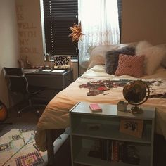 University of Kentucky dorm room I'm not going to lie, the dorms on campus really put Kentucky at the top of my list while searching colleges. Room, Home, College Dorm Decorations, College Dorm Rooms, University Of Kentucky Dorm, Dorm, Room Inspo, University Rooms, New Room