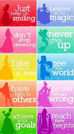 Not simply ramble, this is advice for the true happy princess who takes the world in her hands.