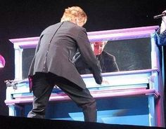 The piano shuffle...loved it