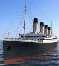 Real Titanic, Titanic Ship, Titanic History, Titanic Model, San Francisco Skyline, Olympics, Ocean, Dreams, Cruises