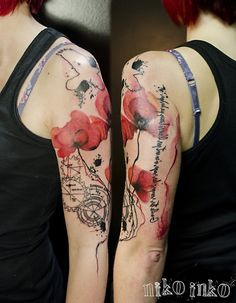 Watercolor tattoo - 65+ Examples of Watercolor Tattoo  <3 <3