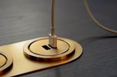 The Ground Control Double USB Port is a stylistic way to charge and power USB devices. Machined in solid brass, the port rests directly in desks and panels. Built In Wall Units, Mission Control, Wire Management, Task Lamps, Black Oxide, Control Unit, Lighting System, Lead Time, Solid Brass