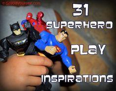 31 super duper ideas for your little SuperHero :)