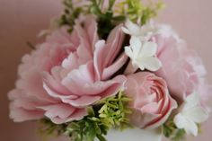 Great for a centerpiece. These are made from clay so a guest could take them home. #wedding
