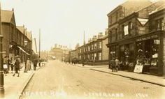 Linacre Road Litherland Liverpool 1940