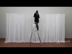 Double-wide Two-Tone Pipe and Drape - YouTube