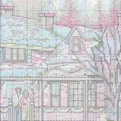 Схема вышивки Домой на праздники (Dimensions) 2 из 6