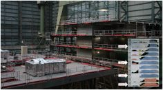 December 28 2013 photo taken at Meyer Werft with (un)official construction progress chart inset.