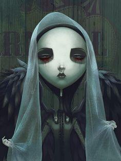Virgo - Afterland character by Sarita Kolhatkar for Imaginary Games #Afterland #ImaginaryGames #SaritaKolhatkar