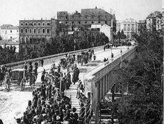 Viaducto a finales Siglo XIX, Madrid