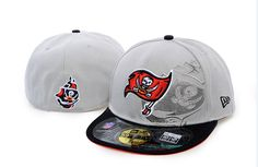 NFL Script Down 59FIFTY Cap Tampa Bay Buccaneers Fitted Hats 005! Only $8.90USD