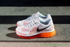 Masculino Platinum Pure/Preto-Carmesim Laser-total de laranja 621078-006 Nike Air Max 2014 venda de chuteiras