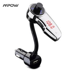 Buy Mpow Streambot Flex Wireless Car Stereo Bluetooth FM Transmitter Audio Receiver Radio Adapter for Speaker Handsfree Calling Bluetooth Car Kit, Technology Gifts, Ipod Touch, 6s Plus, Hands, Fm Transmitter, Iphone 6, Apple Iphone, Free