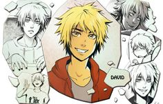 Dont Forget To Smile, Ian Somerhalder, Blond, David, Fandoms, Cartoon, Manga, Artist, Anime