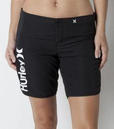 Hurley boardshort for women. Its hard to find a good length boardshort in College Station, much less in maroon! These are great for water sports or sand volleyball!