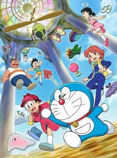 Doraemon the movie: secrets of the gadgets museum Doremon Cartoon, Cartoon Drawings, Cartoon Characters, Doraemon Wallpapers, Cute Cartoon Wallpapers, Anime Fnaf, Manga Anime, Doraemon Stand By Me, Favorite Cartoon Character
