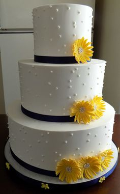 1000+ images about Buttercream Wedding CAkes on Pinterest ...