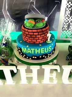 Tartaruga ninjas Cake Decor