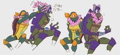 Ninja Turtles Art, Teenage Mutant Ninja Turtles, Tmnt Human, Turtle Tots, Ben 10 Comics, Tmnt 2012, Cyberpunk, Disney, Fan Art