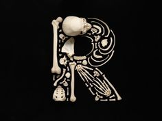 r is for rebecca - Francois Robert Skeleton Alphabet