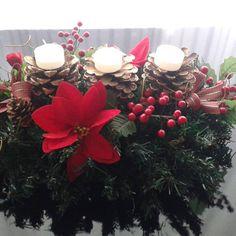 Enfeite natalino centro de mesa