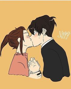 Unordinary Webtoon, I Love Yoo Webtoon, Comics Love, Cute Anime Coupes, Romantic Manga, Webtoon Comics, Amazing Drawings, Anime Angel, Cute Wallpaper Backgrounds