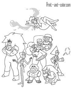 29 Best Coloring: Steven Universe. images | Steven universe ...