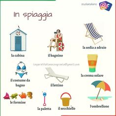 Italian Words, Italian Quotes, Italian Vocabulary, Italian Lessons, Italian People, Italian Beauty, Italian Language, Learning Italian, Beaches