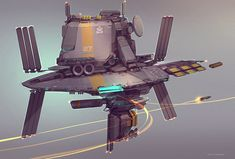 QR Space Station by Talros on deviantART