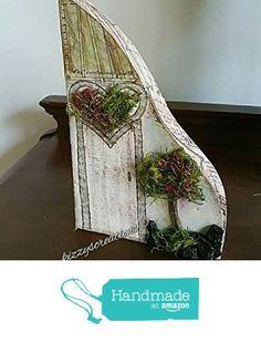 Mixed Media Little Wooden Houses Fairy Door from Kizzy's Creations http://www.amazon.com/dp/B01CYGNGX0/ref=hnd_sw_r_pi_dp_9uW5wb069V5NA #handmadeatamazon