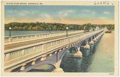 Severn River Bridge, Annapolis, MD. - Digital Commonwealth