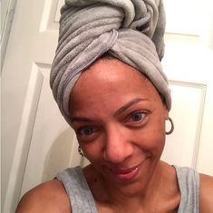 Switch out your usual towel for a microfiber towel to reduce frizz. | 7 Ridiculously Easy Ways To Make Your Hair Look Better This Week