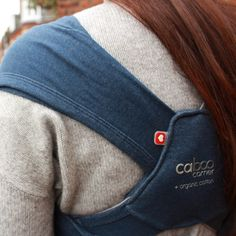 Close Parent Caboo +organic Indigo Marl #babywearing #sling #attachmentparenting