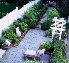 Classic Chic Home: Beautiful Backyard Retreats