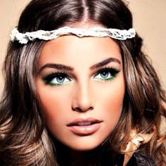 gorgeous and make  up