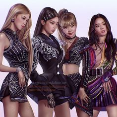 Stan these queens of sass and strength Blackpink Jisoo, Blackpink Jennie, Kpop Girl Groups, Kpop Girls, Chica Dark, Mode Kpop, Lisa Blackpink Wallpaper, Black Pink Kpop, Blackpink Memes