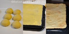 prajitura in foi cu crema Creme Caramel, Food Cakes, Griddle Pan, Gingerbread, Cake Recipes, Diy And Crafts, Deserts, Cheese, Candy