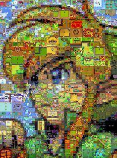 #link The Legend of Zelda Mosaic by Cornejo-Sanchez.deviantart.com on @deviantART