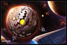 Dyson Sphere for ASTRON